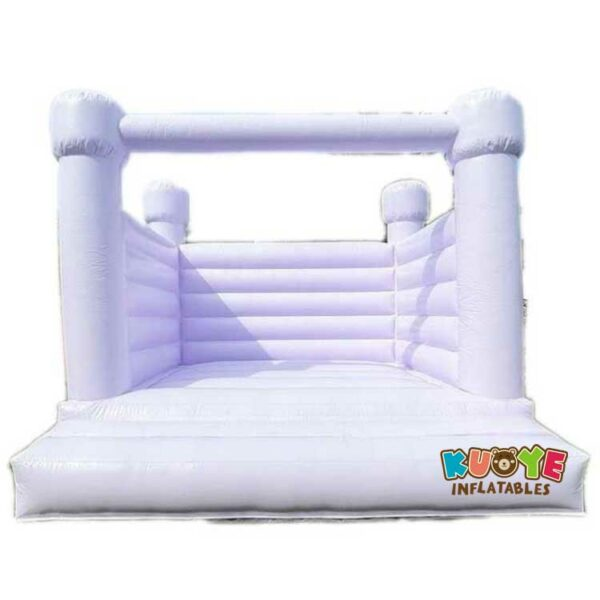 BH088 White Jumping Castle for Wedding