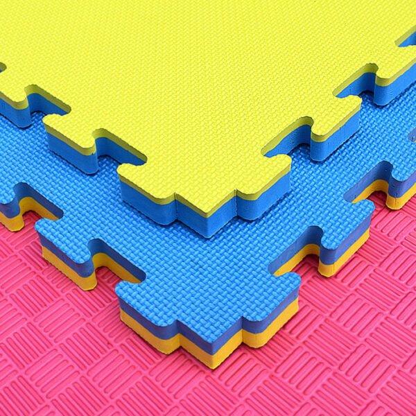 M002 2.5cm Thick Flooring Puzzle Exercise EVA Foam Mat 3