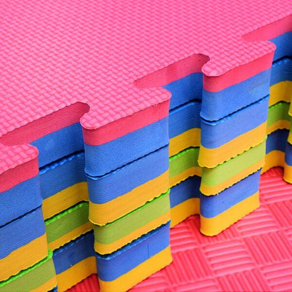 M002 2.5cm Thick Flooring Puzzle Exercise EVA Foam Mat 4