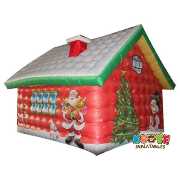 Xmas014 Santa Christmas House Inflatable 4