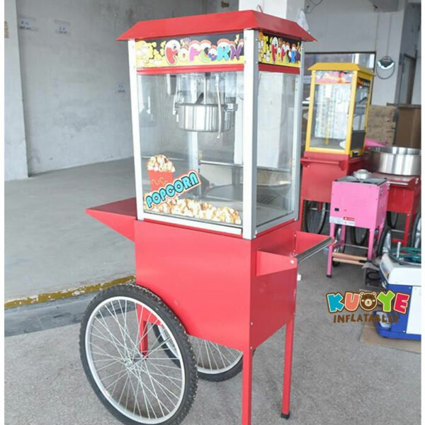 PM002 Commercial Electric Popcorn Machine with Cart 4