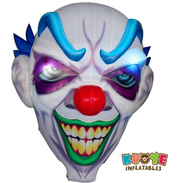 R003 Free Shipping Hanging Inflatable Clown From Decoration 0.18mm PVC