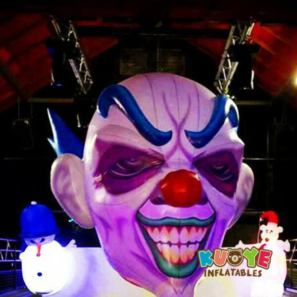 R003 Free Shipping Hanging Inflatable Clown From Decoration 0.18mm PVC 3