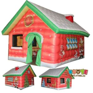 Xmas014 Santa Christmas House Inflatable 2
