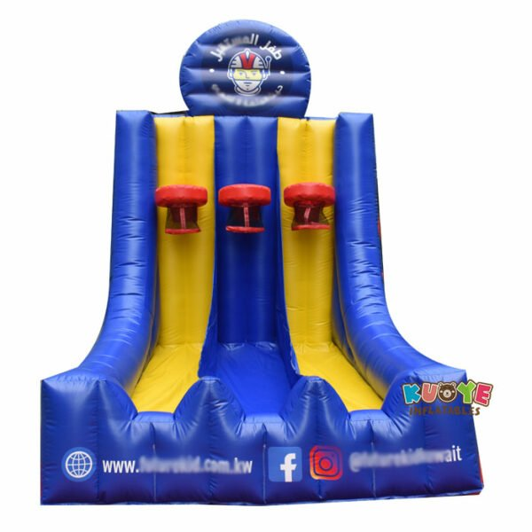 SP026 Custom Inflatable Inflatable Basketball Hoops Game