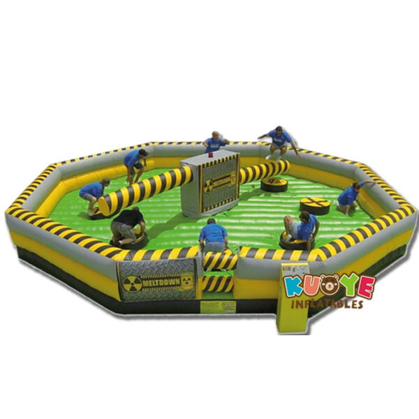 SP1851 8 Players Meltdown Mechanical Inflatable Wipe Out game