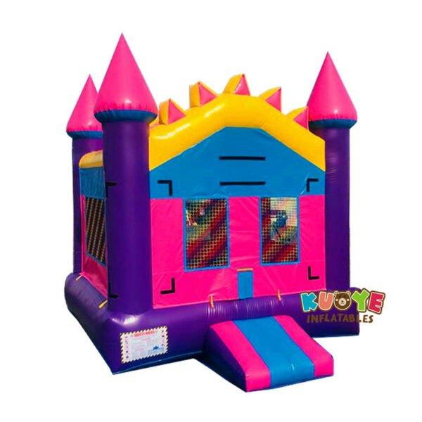 BH094 Purple Castle Bounce House Rental