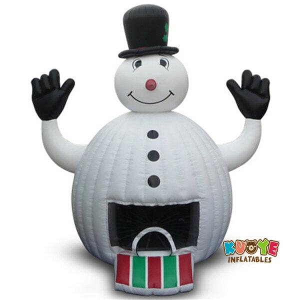 BH1837 Snowman Bounce House