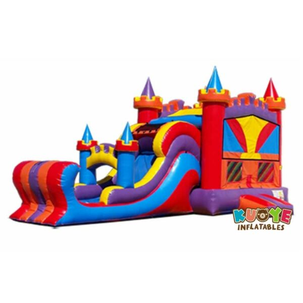 CB023 Castle Bounce House with Slide