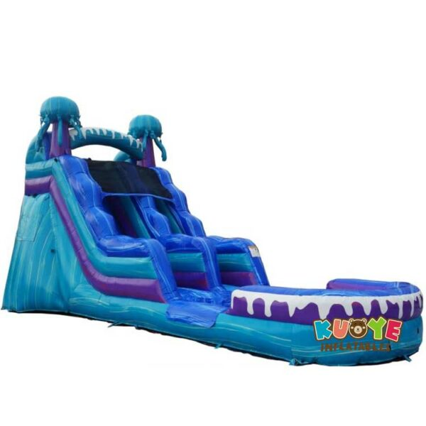 WS066 15 foot Jelly Fish Water Slide with pool