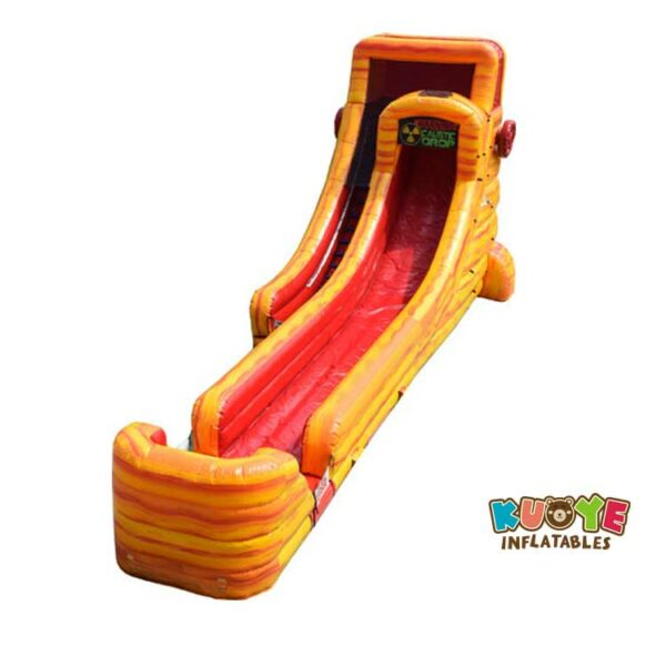 WS068 22 Ft Extreme Fire Water Slide