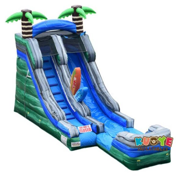 WS067 16′ Surf's Up Water Slide