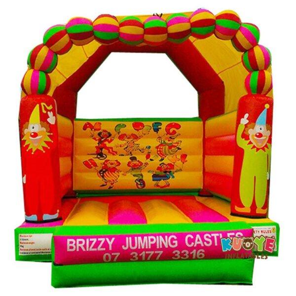 BH1847 Circus Clowns Jumping Castle