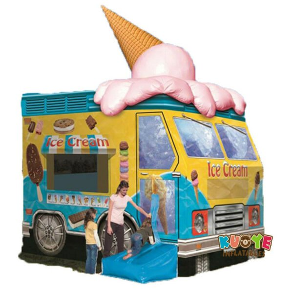 BH1848 Ice Cream Truck Bouncer