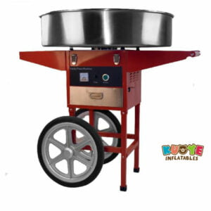 PM003 Commercial Electric Cotton Candy Machine With Cart 2