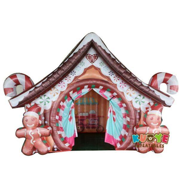 Xmas017 Custom Christmas House Inflatable