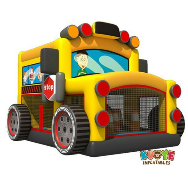 BH1851 School Bus Bouncy House