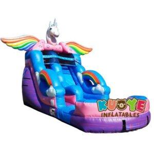 WS019 17ft Unicorn Water Slide