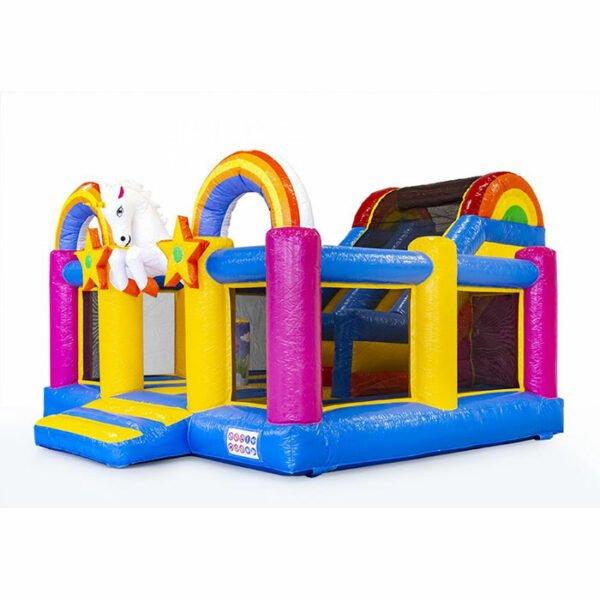 CB090 Slidebox Unicorn Bouncy Castle