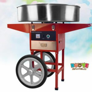 PM003 Commercial Electric Cotton Candy Machine With Cart
