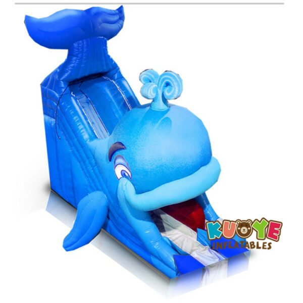 WS1806 30ft Super Whale Water Slide Outdoor