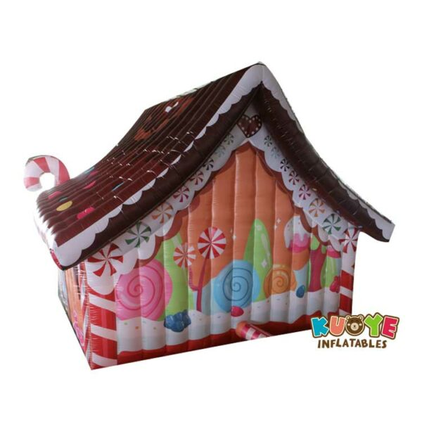 Xmas017 Custom Christmas House Inflatable 2