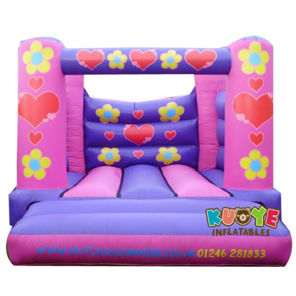 BH1806 Pink Flowers Bouncing Castle