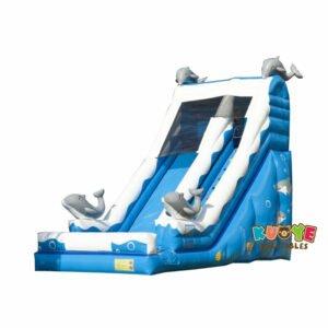 SL018 Inflatable Dolphin Big Slide