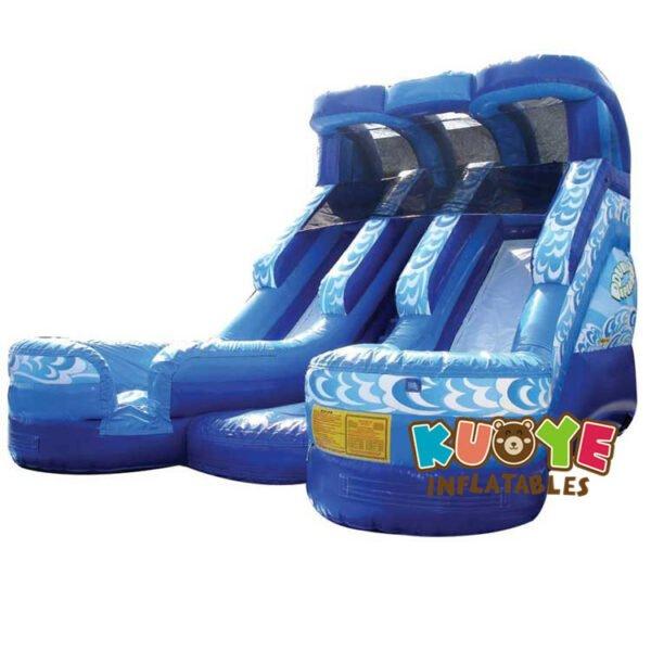 WS026 19ft Double Splash Water Slide Twice The Fun