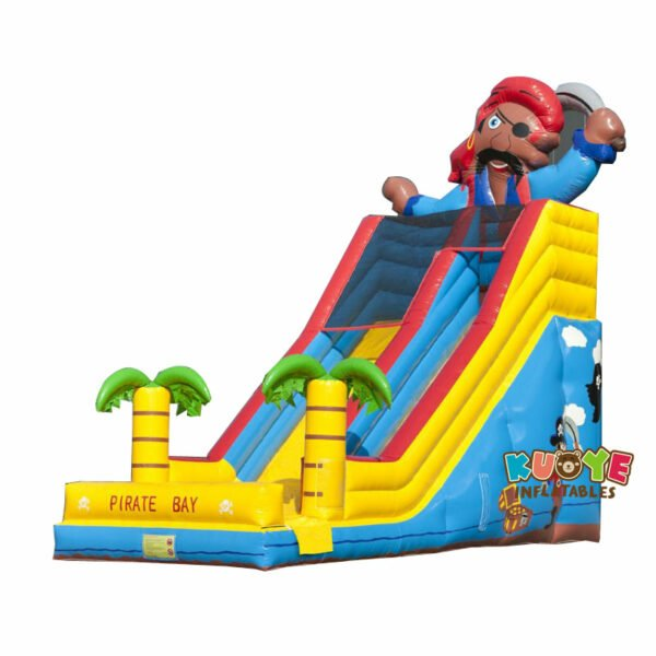 SL020 Inflatable Giant Pirate Slider