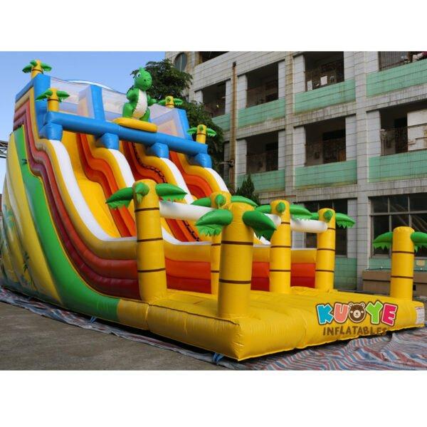 SL028 Giant Inflatable Dinosaur Slide 2