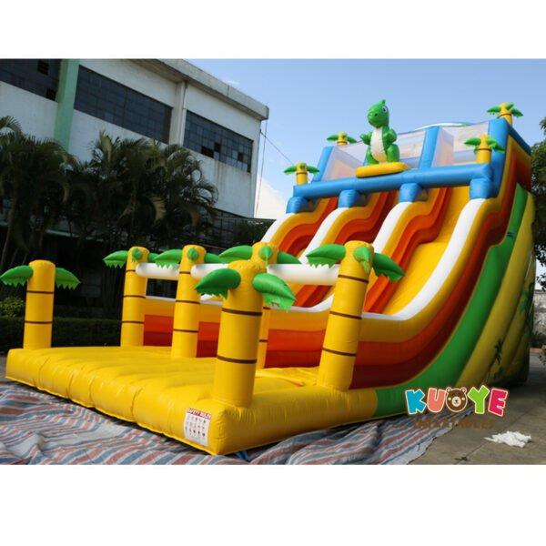 SL028 Giant Inflatable Dinosaur Slide 6