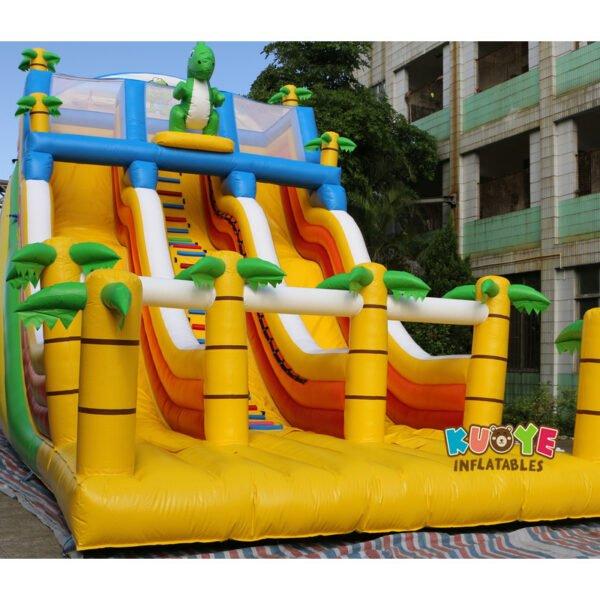 SL028 Giant Inflatable Dinosaur Slide 3