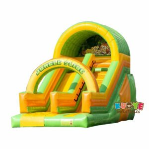SL009 Inflatable Jungle Slide