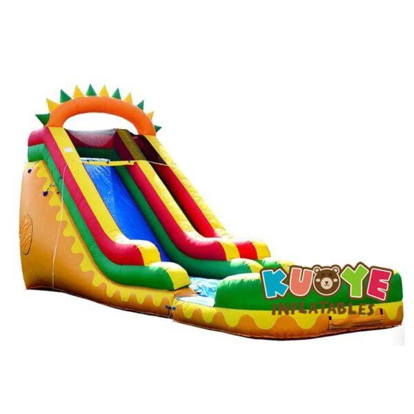 WS076 18 FT Dino Fun Water Slide