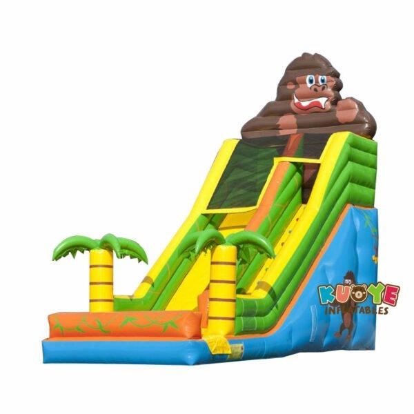 SL021 Inflatable Giant Gorilla Slide