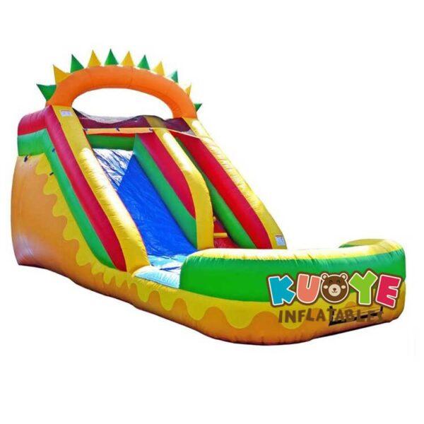 WS079 14 FT Dino Fun Water Slide