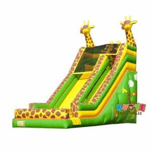 SL023 Inflatable Giant Giraffe Slide