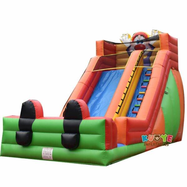 SL030 Clown Inflatable High Slide