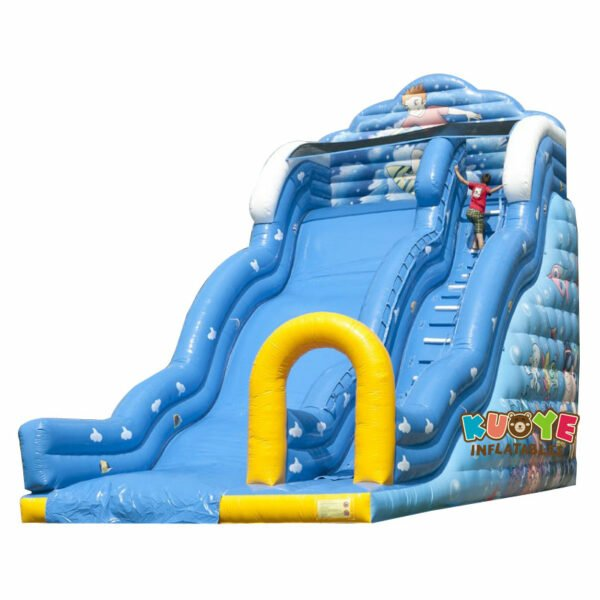 SL024 Inflatable Mega Seaworld Slide