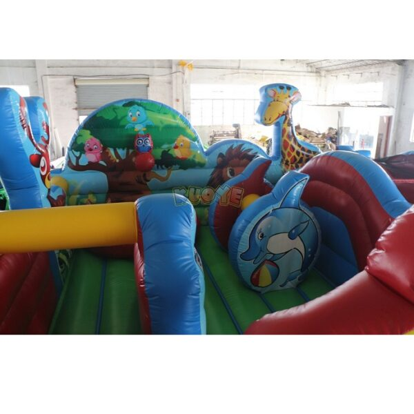 KYCF03 Zoo Animal Kingdom Toddler Playland 15