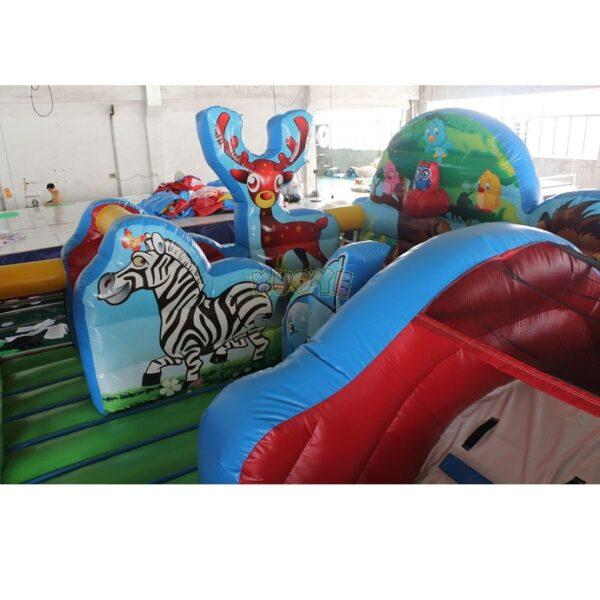 KYCF03 Zoo Animal Kingdom Toddler Playland 5