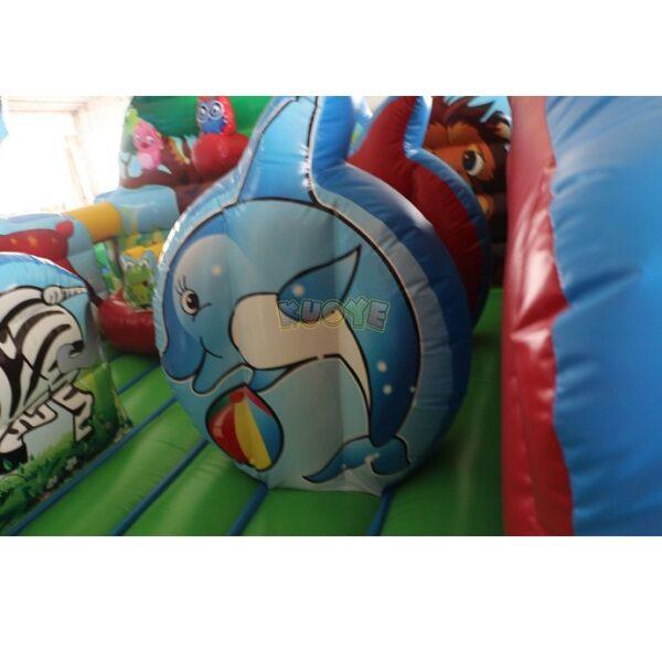KYCF03 Zoo Animal Kingdom Toddler Playland 7