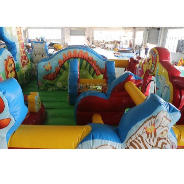 KYCF03 Zoo Animal Kingdom Toddler Playland 9