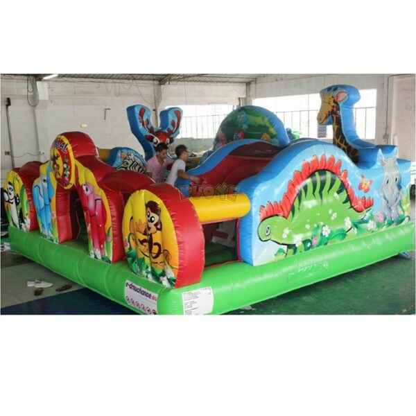 KYCF03 Zoo Animal Kingdom Toddler Playland 3