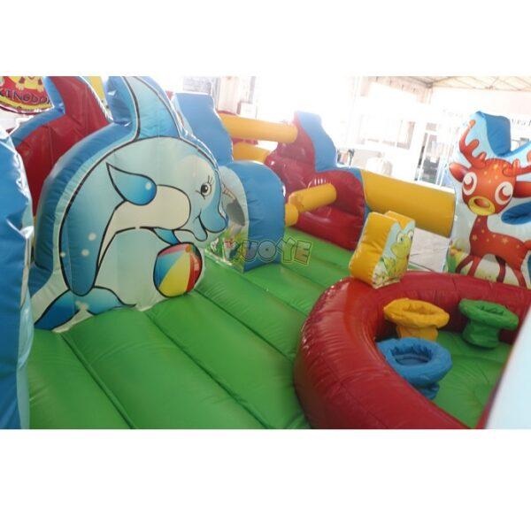 KYCF03 Zoo Animal Kingdom Toddler Playland 12