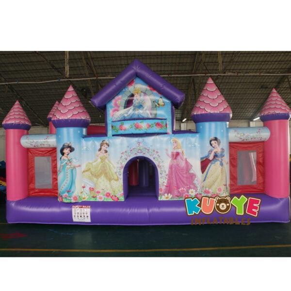 BH001 Princess Toddler Palace Bounce House 2