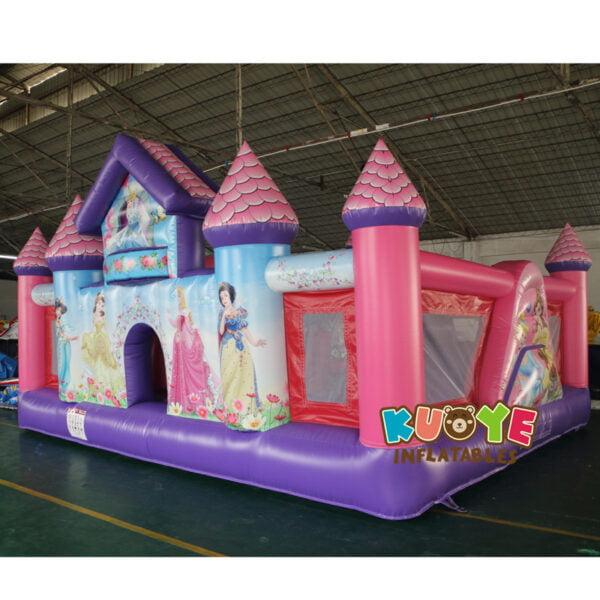 BH001 Princess Toddler Palace Bounce House 3