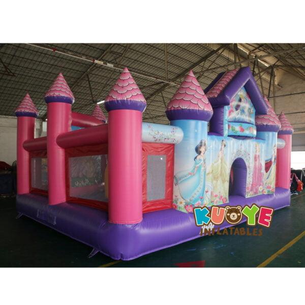 BH001 Princess Toddler Palace Bounce House 4