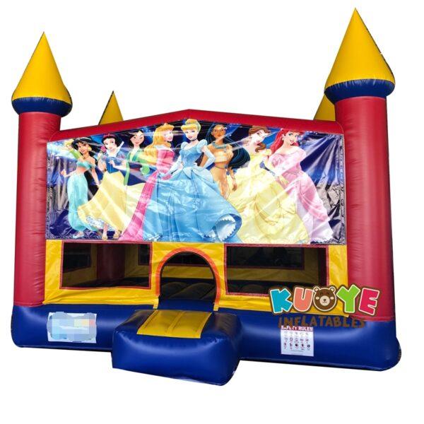 BH004 13′ x 13′ Princess Banner Castle Bounce House